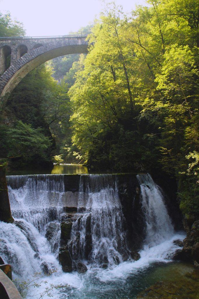 Vintgar Klamm Gorge Bleder See Triglav Nationalpark
