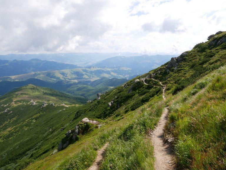 die Karpaten Gebirge Rumänien wandern