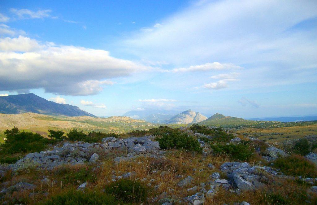 Dinara Knin Berge Kroatien