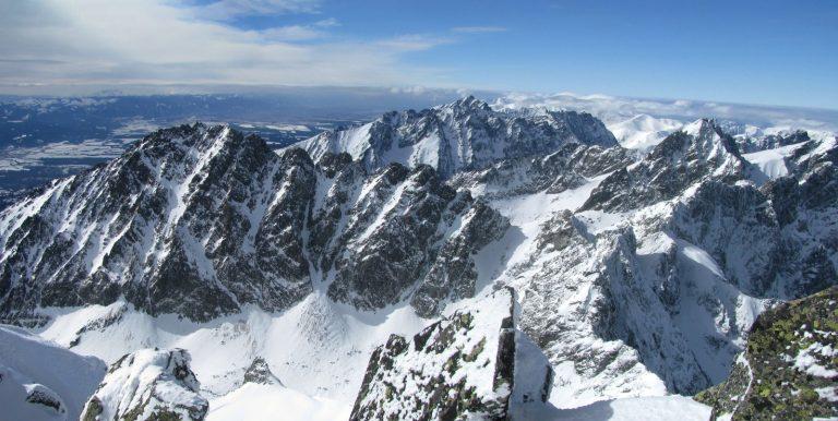 Gerlachovský štít Berg Winter Slowakei