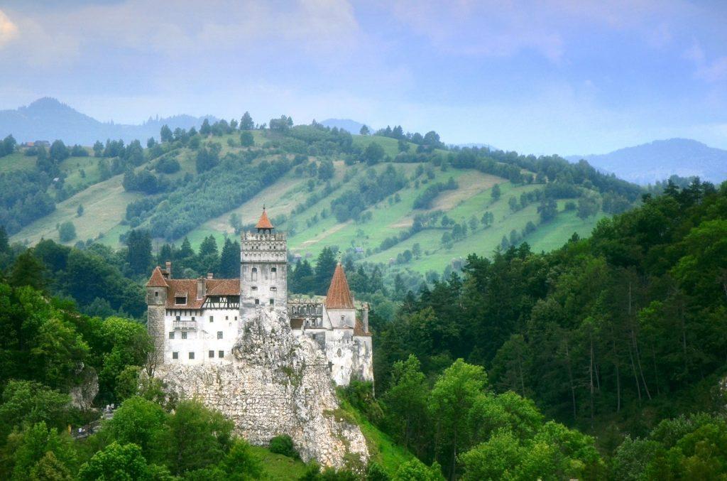 Siebenbürgen Transsylvanien Schloss Bran Rumänien