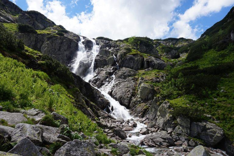 Siklawa Wasserfall Polen Tatra