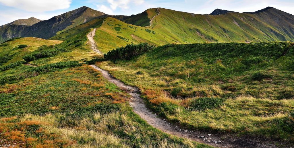 Tatra Gebirge Polen Slowakei wandern