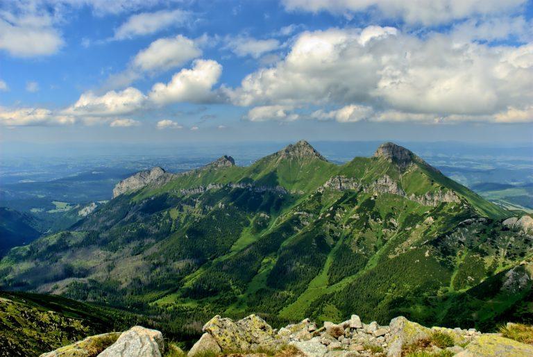 Tatra Gebirge wandern Aussicht