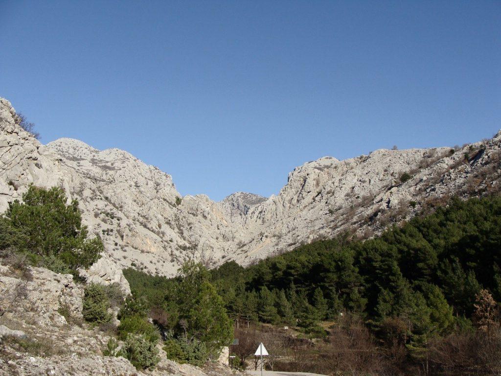 Velebit Gebirge Kroatien Zavizan