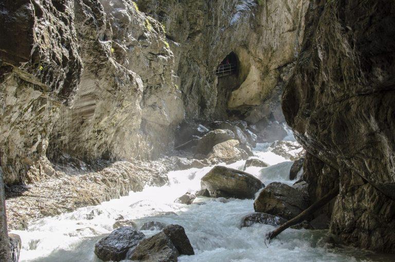 Partnachklamm Garmisch-Partenkirchen Deutschland