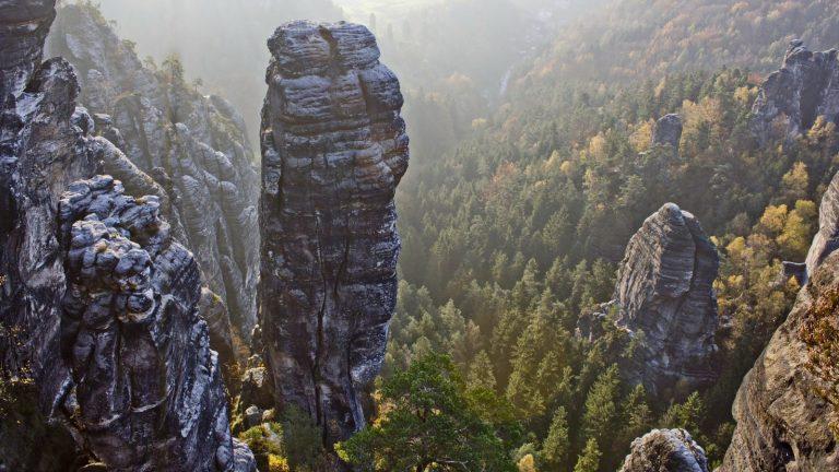 Sächsische Schweiz Wandern Deutschland