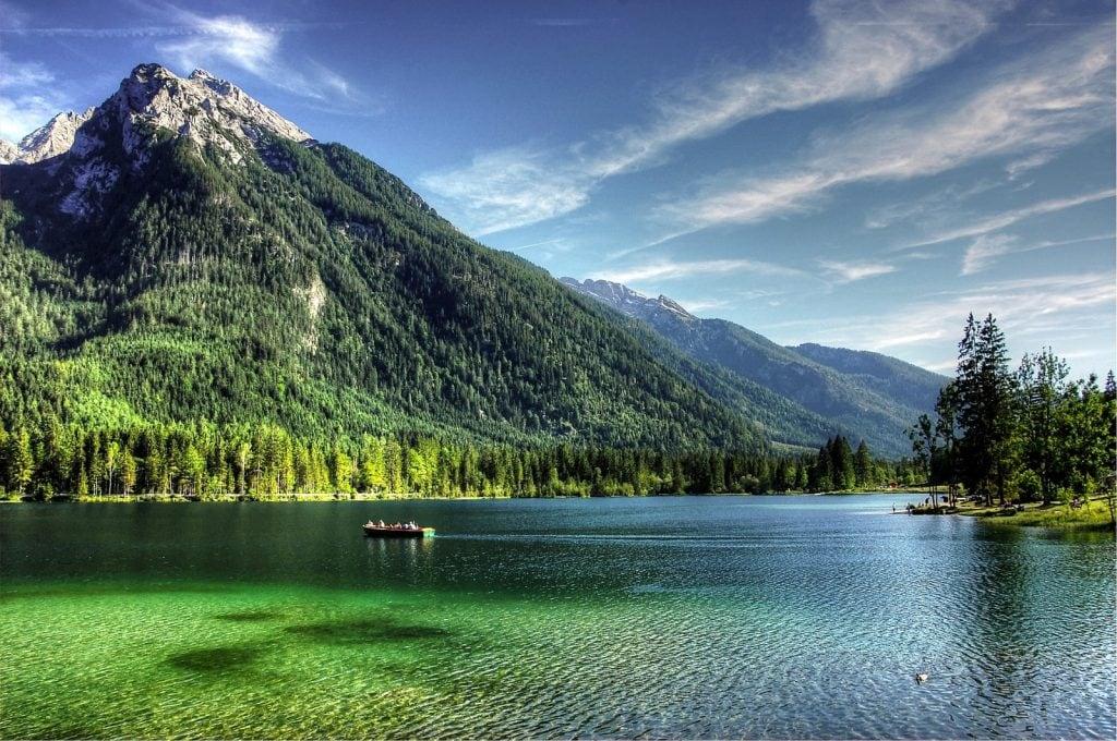 Wandern in Deutschland Ramsau Berchtesgaden