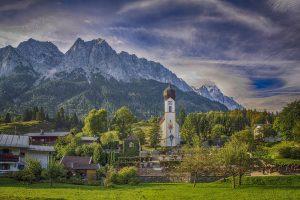 Zugspitze Garmisch-Partenkirchen Deutschland Wandern